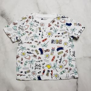 Tucker and Tate Skater graphic tshirt